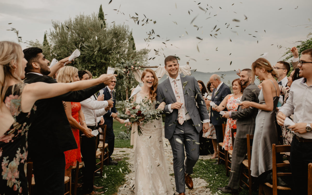COUNTRY AND ELEGANT WEDDING IN TUSCANY