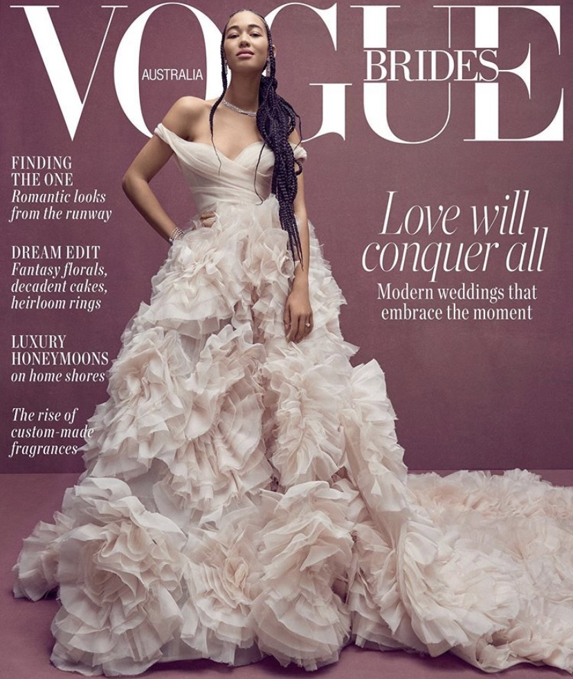 wedding photographer on vogue